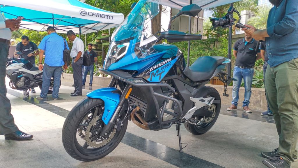 LIVE – CFMOTO enters India, Launches 4 motorcycles