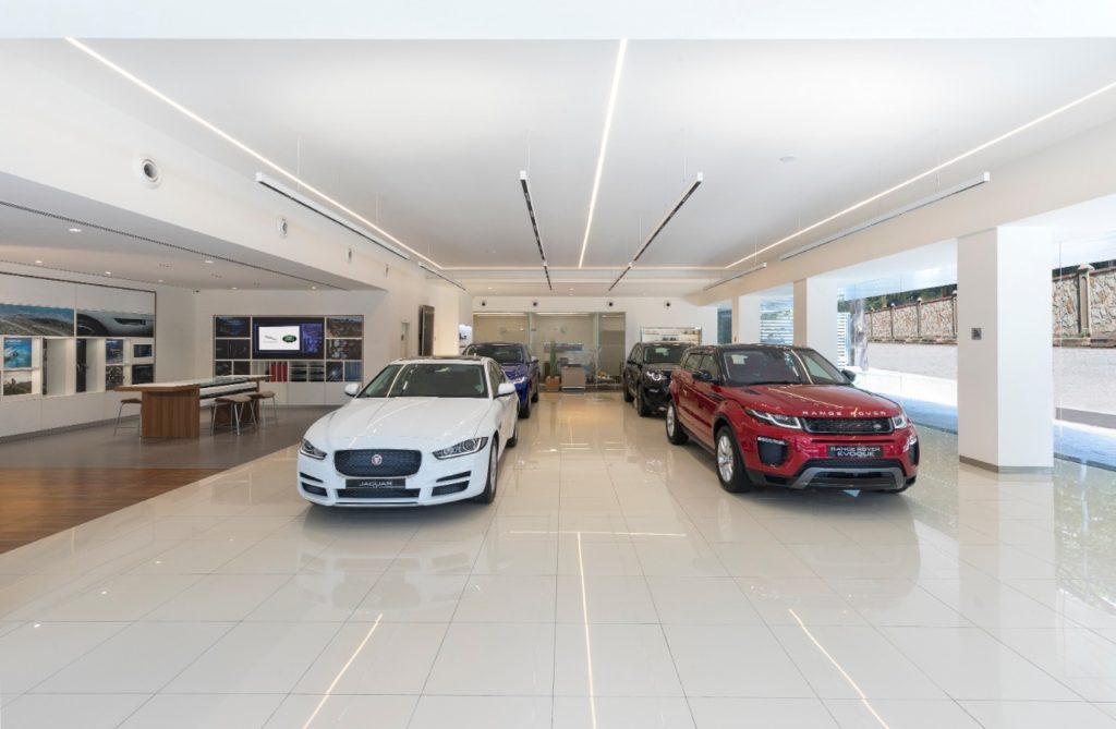 Jaguar Land Rover open their 1st Boutique Showroom in India at Bangalore