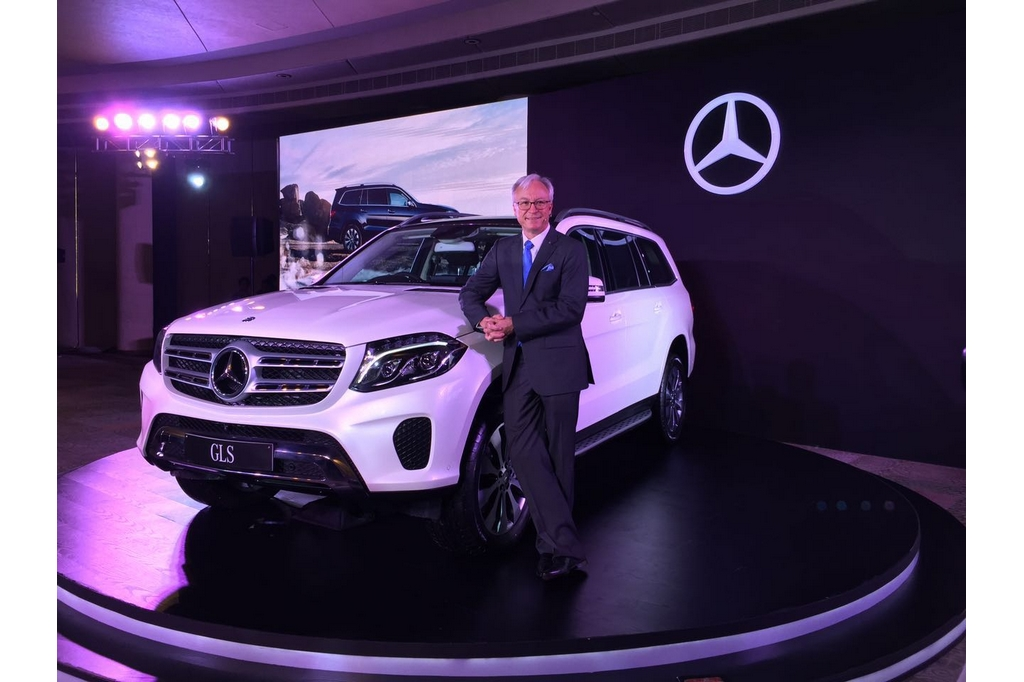 2016 Mercedes Benz GLS India Launch