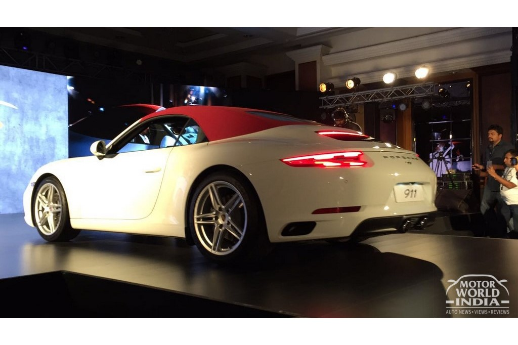 2017 Porsche 911 Turbo India Launch
