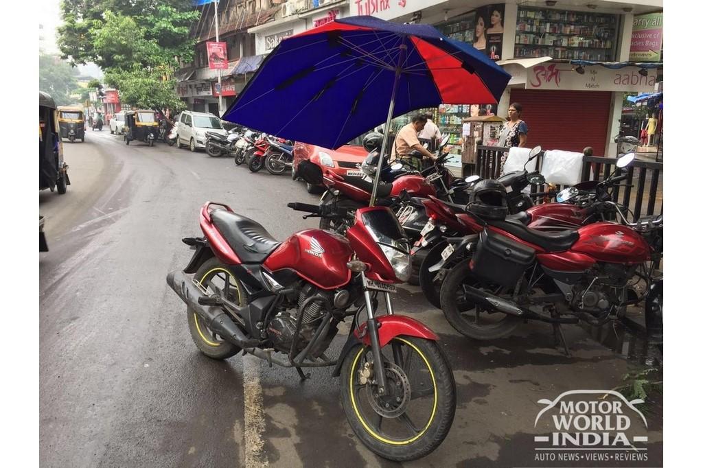 Honda CB Unicorn Umbrella Motorcycle
