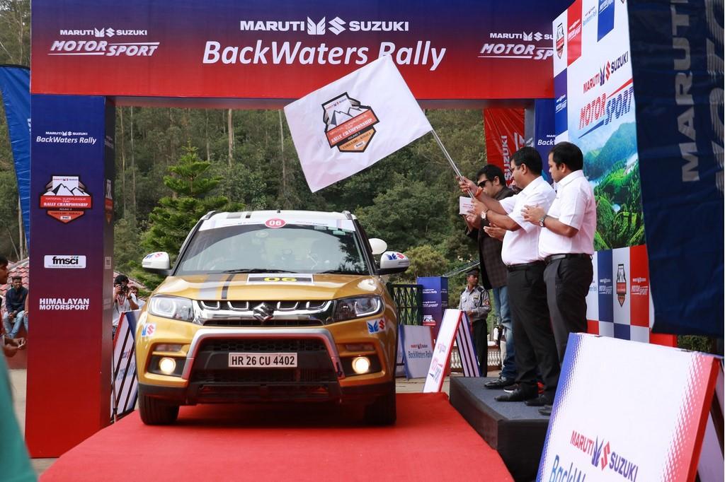 Maruti Suzuki Backwaters Rally Flag Off