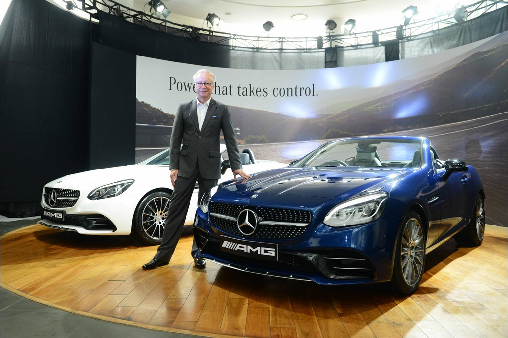 Mercedes Benz SLC43 AMG India Launch