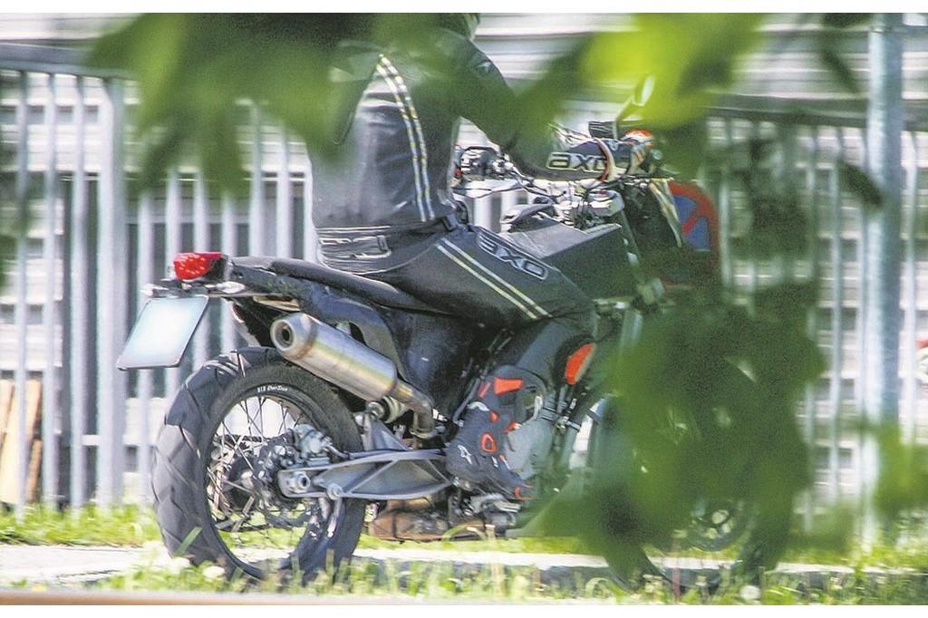 KTM 800 Adventure Motorcycle
