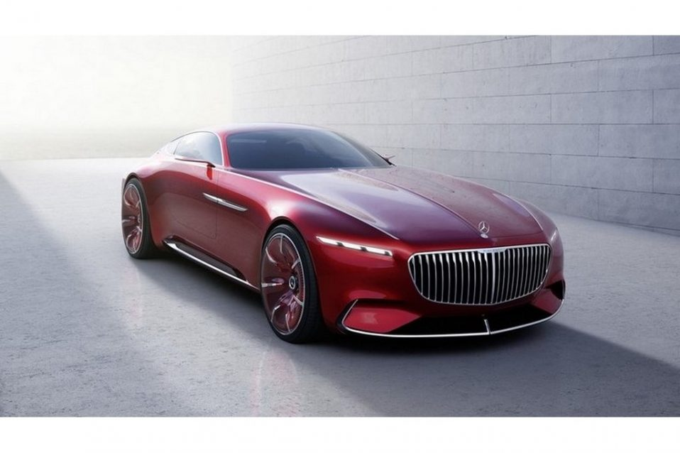 Mercedes Maybach 6 Concept Coupe
