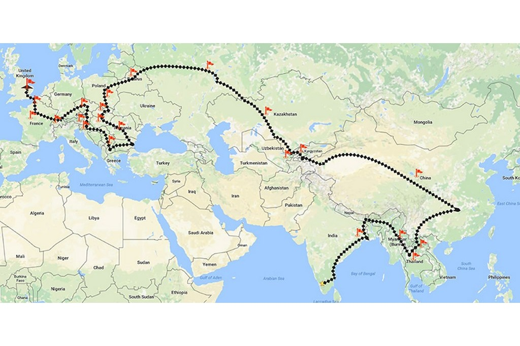 Tata HEXA mission map