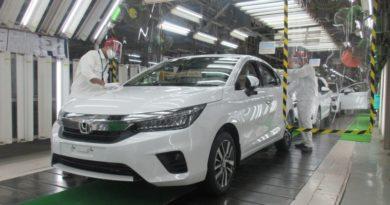 2020 Honda City Production