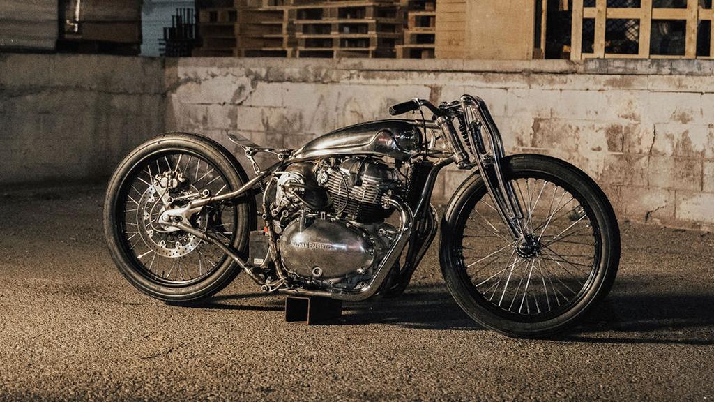 Royal Enfield unveils Sosa Metalworks Kamala custom motorcycle
