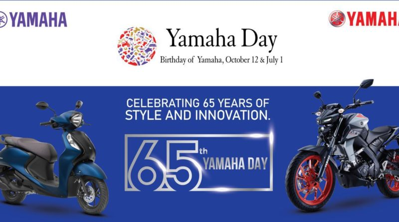 "Yamaha Celebrates 65th Anniversary ""Yamaha Day"" Pays Tribute To Frontline Warriors"