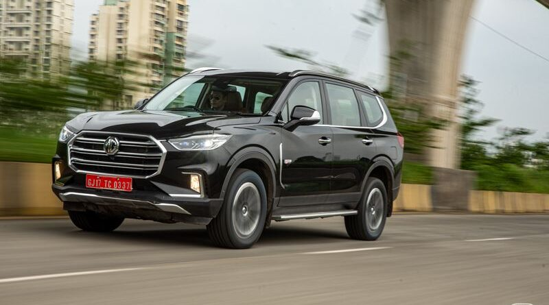 LIVE – MG Gloster Premium SUV Launched at Rs.28.98 Lakh