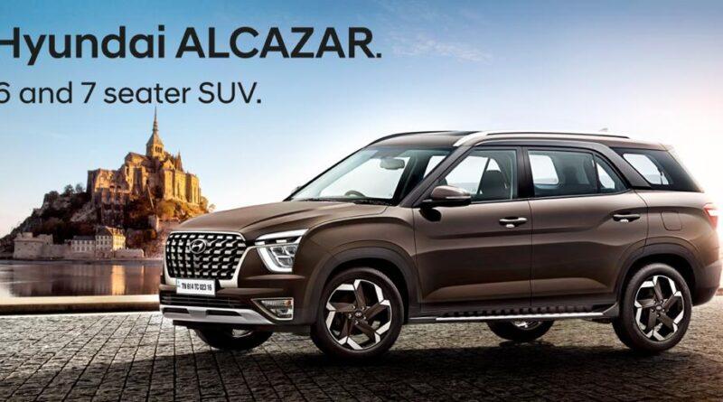 Hyundai Globally unveils the Alcazar 6/7 Seater SUV